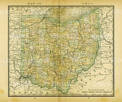 Ohio Usa Map by Ohio Map Clip Art Vector Images U0026 Illustrations Istock