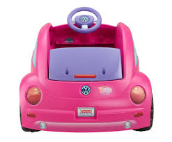 volkswagen new beetle pink power wheels dora and friends volkswagen new beetle 6v battery