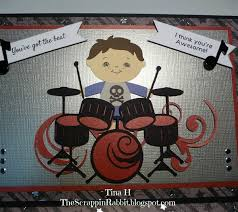 project center little drummer boy birthday card