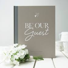 modern wedding guest book illustries be our guest modern wedding guest book buy online now