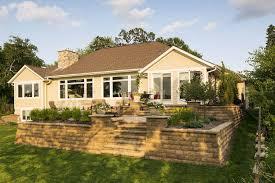 minnesota backyard paver patio and retaining walls southview design