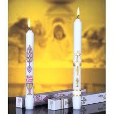 communion candles holy communion candles sacramental candle australia