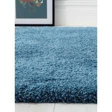 Cornflower Blue Bathroom by Sumptous Cornflower Blue Shaggy Rug Kukoon
