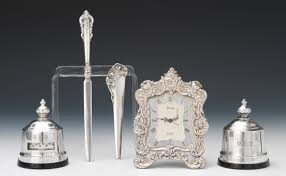 Silver Desk Accessories A Of Sterling Silver Desk Accessories Gorham Wallace Kirk