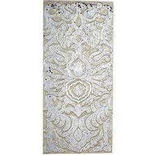 Mirrored Wall Panels Pier 1 Imports Champagne Mirrored Mosaic Damask Panel Polyvore