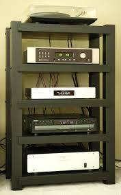 Homemade Stereo Cabinet Shelves Amusing Stereo Shelves Audio Equipment Racks Stereo