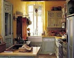 blue kitchen cabinets and yellow walls blue kitchen archives atticmag