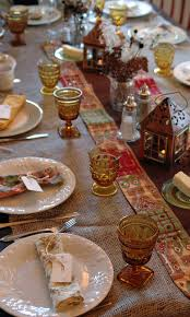 Thanksgiving Table Setting by Deborah Jean U0027s Dandelion House And Garden Frugal Thanksgiving