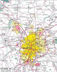 map of atlanta metro area u s metropolitan area maps perry castañeda map collection ut