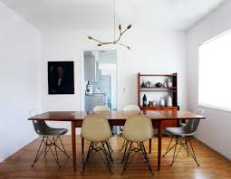Chic Crystal Chandelier Design For Small Dining Room Ideas With - Retro dining room