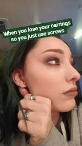 bts earrings image bts 1x05 boxed in emma dumont screw earring png the gifted