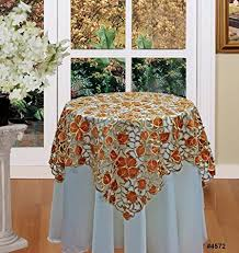 autumn harvest table linens amazon com fall autumn harvest thanksgiving embroidered cutwork