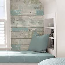 peel and stick wallpaper wallpops beachwood peel and stick wallpaper roll reviews wayfair