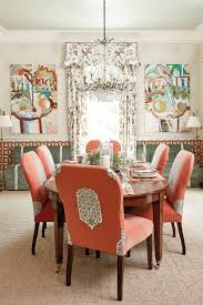 Ballard Designs Dining Chairs by Margaret Kirkland U0027s Dining Room Southern Living How To Decorate