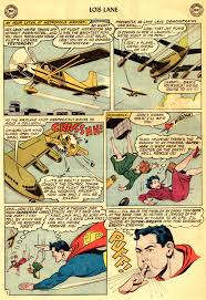 more lucy lane and lois lane silver age comics sillyness