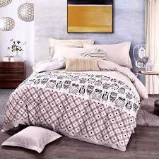 100 cotton nerdy owl bedding set cent per click