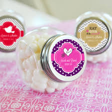personalized wedding favors personalized theme candy jar wedding favors