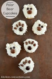 kitchen concoctions northpole pretzels and polar bear cupcakes