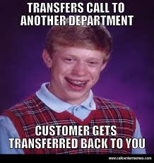 Meme Caption - bad luck brian archives call center memes