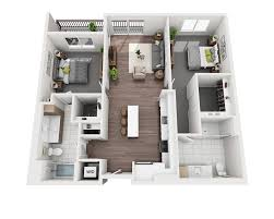 Apartment Complex Floor Plans Floor Plans And Pricing For Verve Apartments Mountain View Ca