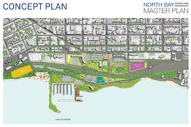 downtown waterfront master plan city of north bay