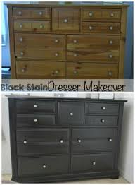 Staining Bedroom Furniture This Is Almost Exactly How I Updated A Chest Of Drawers And