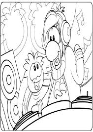 coloring pages of club penguin printable club penguin coloring pages coloring me