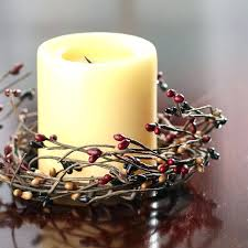 candle with ring inside us rings christmas centerpieces