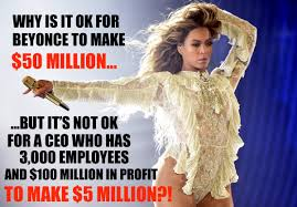Beyonce New Album Meme - this meme destroys liberal lies on wealth inequality look