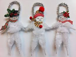 Decoration Christmas Vintage by 140 Best Chenille Stems Pipe Cleaners Images On Pinterest Pipe