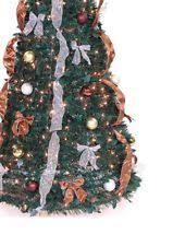 pre decorated christmas tree ebay