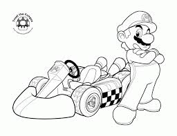 mario coloring pages super mario characters coloring pages kids