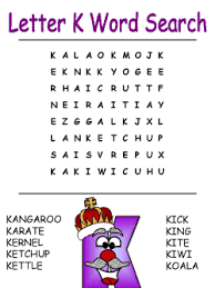 printable alphabet word search