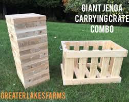 How To Make Backyard Jenga by Yard Jenga Etsy