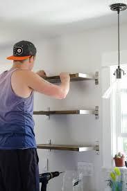 Ikea Kitchen Shelves Diy Open Shelving For Our Kitchen Lemon Thistle