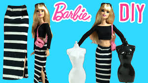 Home Design Homemade Barbie Doll by Diy How To Make Barbie Doll Long Skirt Barbie Clothes Tutorial