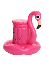 zombie flamingo spirit halloween flamingo pool float cooler topic