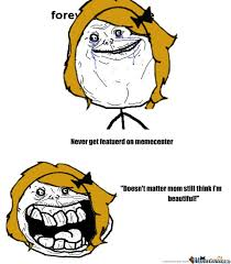 Forever Alone Meme - forever alone girl by katarina stanisavac meme center