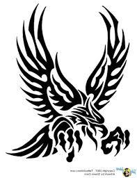 eagle tribal tattoo meaning small tribal eagle tattoo fresh 2017