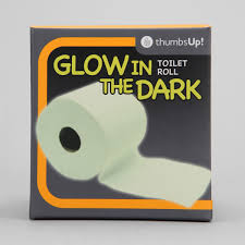 glow in the dark toilet paper the green head
