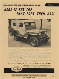 first willys jeep laurel c worman and the worman products for early jeeps ewillys