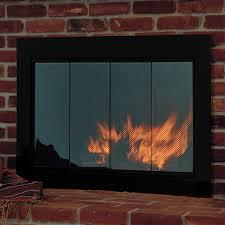 Air Tight Fireplace Doors by Rectangle Fireplace Doors Woodlanddirect Com Masonry Fireplace