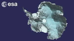 Map Of Antarctica Cryosat Data Used To Develop 3d Map Of Antarctica Youtube