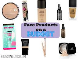 best drugstore face products beauty on a beer budget skin