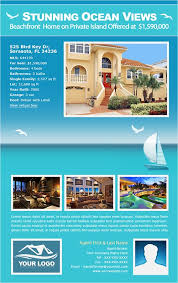 island brochure template eflyer template real estate email flyers and marketing flyers