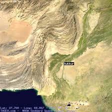 sukkur map sukkur sindh pakistan geography population map cities coordinates