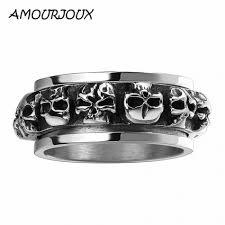 mens skull wedding rings popular skull wedding bands for men buy cheap skull wedding bands