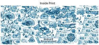 legend of zelda map with cheats the legend of zelda map print mug eb games australia
