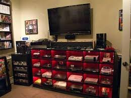 Gaming Room Decor Gamer Room Ideas Usavideo Club
