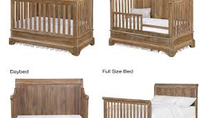 Convertible Crib Plans Crib Conversion Kit Pacific Nontoxic Toddler Bed
